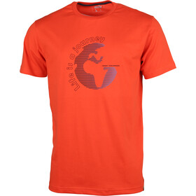 High Colorado Garda 4 t-shirt Heren, spicy orange